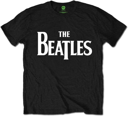 The Beatles - Logo White - Taille S