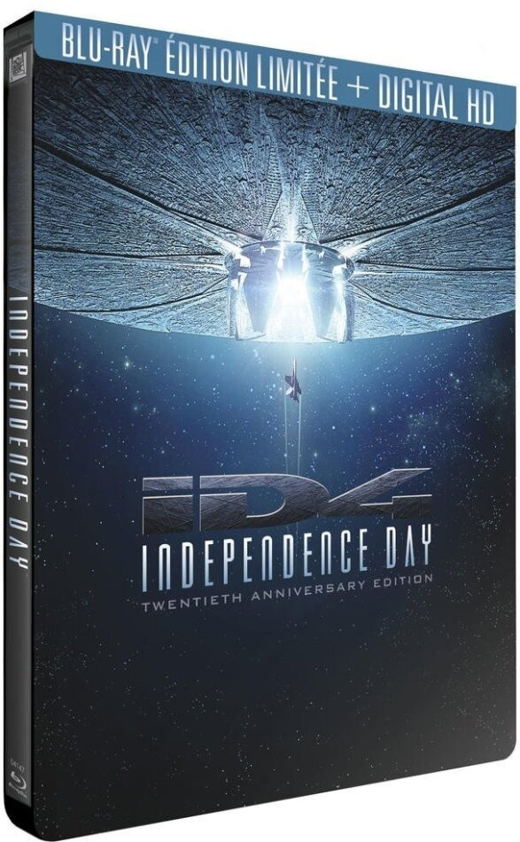 Independence Day (1996) (20th Anniversary Limited Edition, Steelbook, 2 Blu-rays)