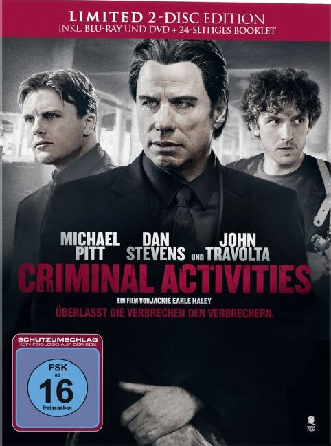 Criminal Activities (2015) (Limited Edition, Mediabook, Blu-ray + DVD)