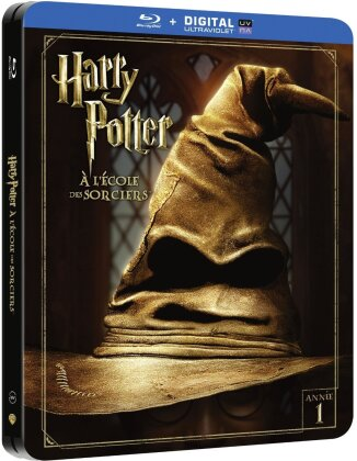 Harry Potter à l'ecole des sorciers (2001) (Kinoversion, Limited Edition, Langfassung, Steelbook, 2 Blu-rays)