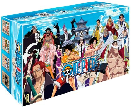 One Piece - Partie 3 - Intégrale Arc 6 à 10 (Box, Collector's Edition, Limited Edition, 41 DVDs)