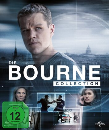 Die Bourne Collection (Digibook, 4 Blu-rays + DVD)