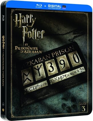 Harry Potter et le prisionner d'Azkaban (2004) (Limited Edition, Steelbook, 2 Blu-rays)