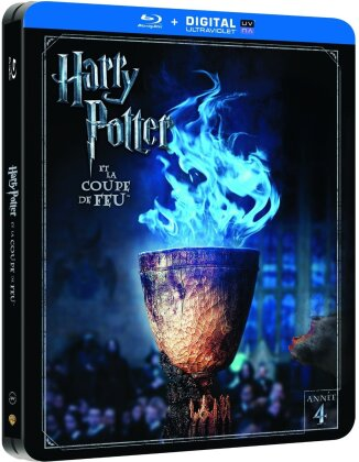Harry Potter et la Coupe de Feu (2005) (Limited Edition, Steelbook, 2 Blu-rays)