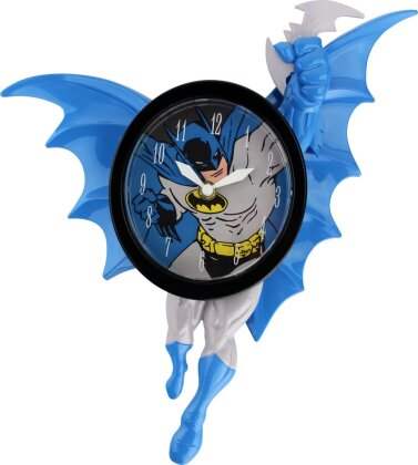 Batman: Swinging Batman - 3D Motion Wanduhr