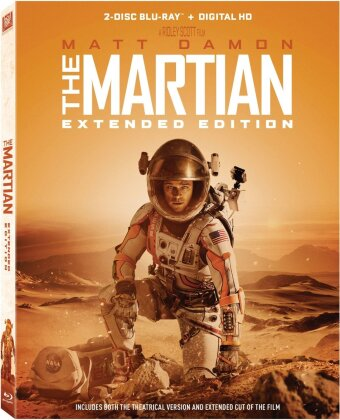 Martian (2015) (Widescreen, Extended Edition, 2 Blu-ray)