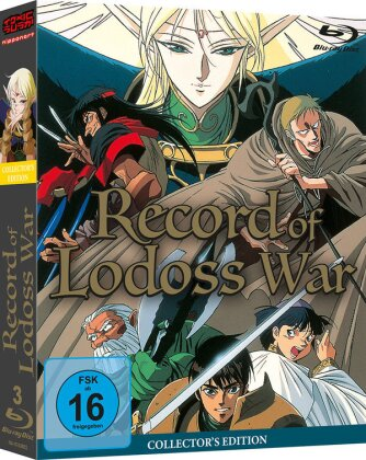 Record of Lodoss War (Collector's Edition, 2 Blu-rays)