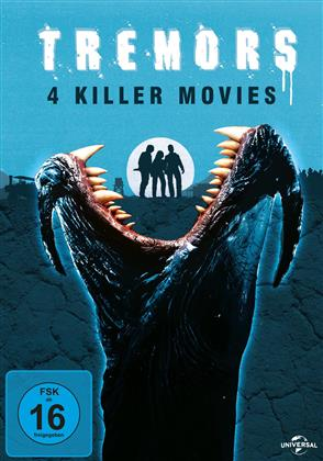 Tremors 1-4 - Killer Movies (4 DVDs)