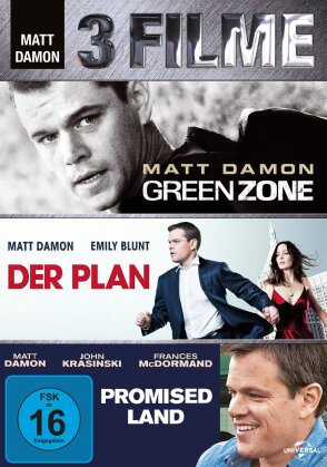 Matt Damon - 3 Filme (3 DVDs)