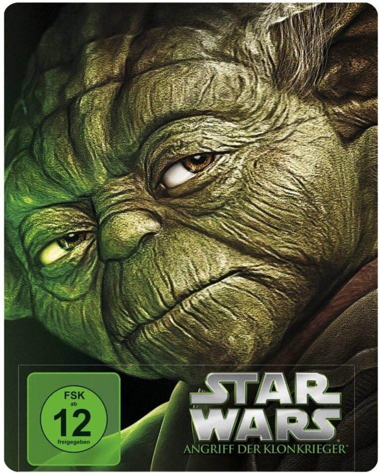Star Wars - Angriff der Klonkrieger (Steelbook) [Blu-ray]