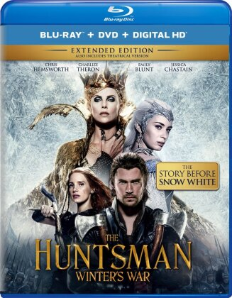 The Huntsman - Winter's War (2016) (Extended Edition, Versione Cinema, Blu-ray + DVD)