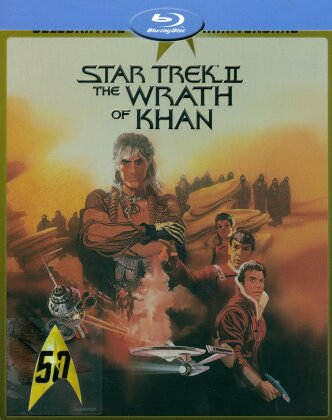 Star Trek 2 - The Wrath of Khan (1982) (50th Anniversary Edition, Director's Cut, Kinoversion, Limited Edition, Steelbook)
