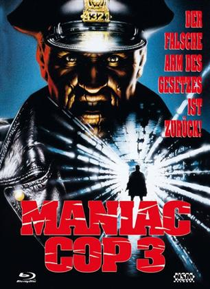 Maniac Cop 3 (1993) (Cover A, Limited Edition, Mediabook, Blu-ray + DVD)