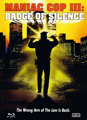 Maniac Cop 3: Badge of Silence (1993) (Cover D, Mediabook, Blu-ray + DVD)