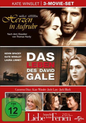 Kate Winslet - 3-Movie Set (3 DVDs)