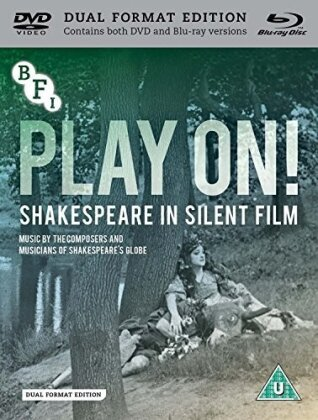 Play On! - Shakespeare In Silent Film (s/w, Blu-ray + DVD)