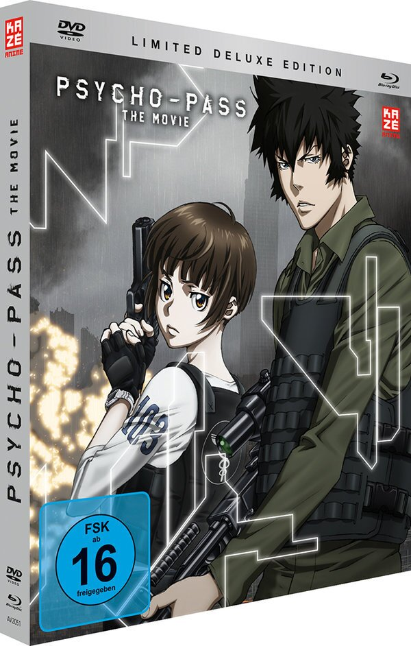 Psycho-Pass - The Movie (2015) (Deluxe Edition, Limited Edition, Mediabook, Blu-ray + DVD)