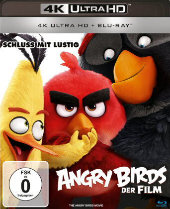 Angry Birds - Der Film (2016) (4K Ultra HD + Blu-ray)