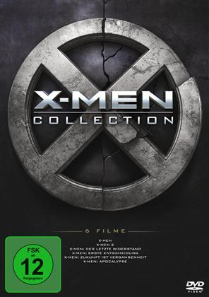 X-Men Collection - 6 Filme (6 DVDs)