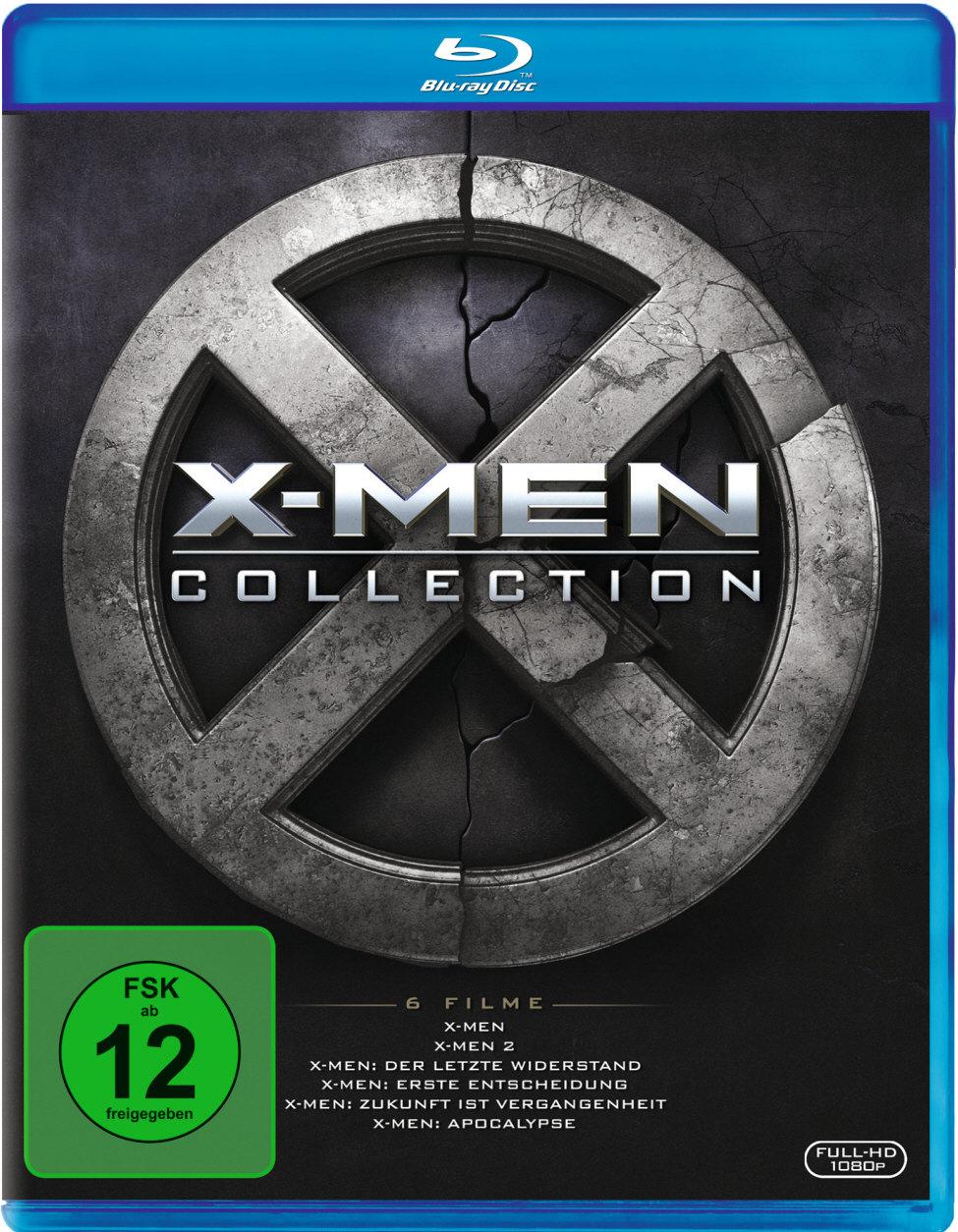 X-Men Collection - 6 Filme (6 Blu-rays)