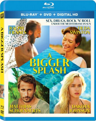 A Bigger Splash - Bigger Splash (2PC) / (2Pk Ws) (2015) (Blu-ray + DVD)