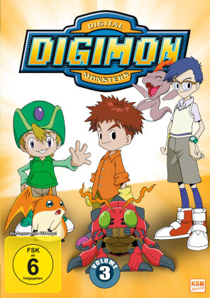 Digimon: Digital Monsters - Adventure - Staffel 1 - Vol. 3 (3 DVDs)