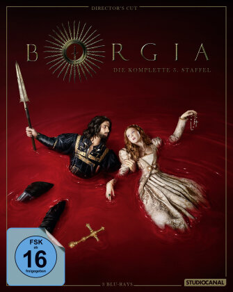 Borgia - Staffel 3 (Director's Cut, 3 Blu-rays)