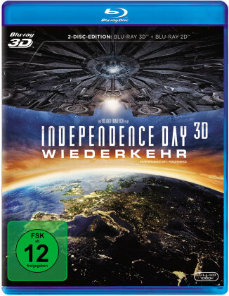 Independence Day 2 - Wiederkehr (2016) (Blu-ray 3D + Blu-ray)