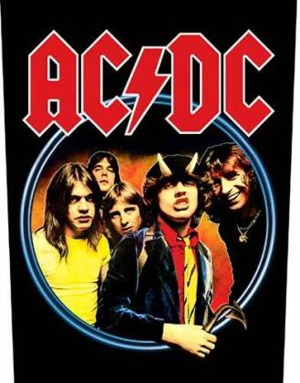 AC/DC - Highway To Hell Back Patch