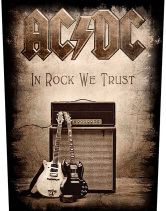 AC/DC Back Patch - In Rock We Trust
