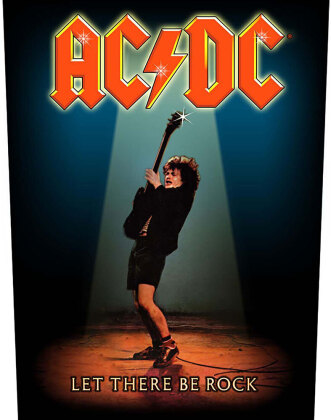 AC/DC Back Patch - Let There Be Rock