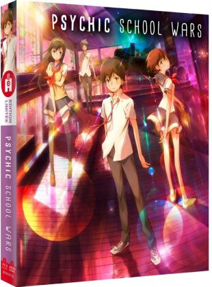 Psychic School Wars (2012) (Limited Collector's Edition, Mediabook, Blu-ray + DVD)