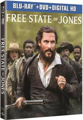 Free State of Jones (2016) (Blu-ray + DVD)