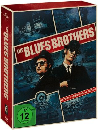 The Blues Brothers (Extended Edition, Limited Deluxe Edition, 3 Blu-rays + DVD)