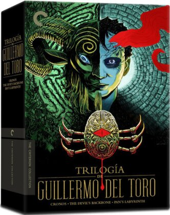 Trilogiá de Guillermo Del Toro (Collector's Edition, Criterion Collection, Special Edition, 5 DVDs)