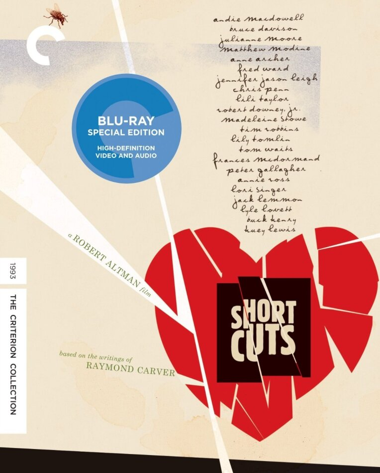 Short Cuts (1993) (Criterion Collection, Restaurierte Fassung, Special Edition, 2 Blu-rays)