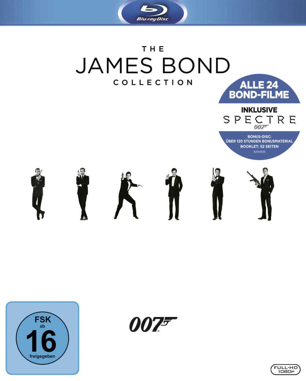 James Bond Collection 2016 - inkl. Spectre (25 Blu-rays)