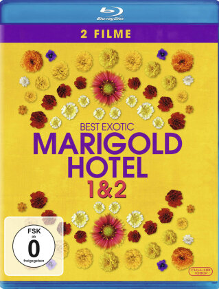 Best Exotic Marigold Hotel 1 & 2 (2 Blu-rays)