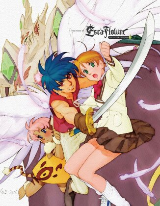 The Vision of Escaflowne - The Complete Series + Movie (Collector's Edition, 6 Blu-ray)