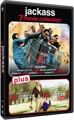 Jackass - 7-Movie Collection (Unrated, 7 DVD)