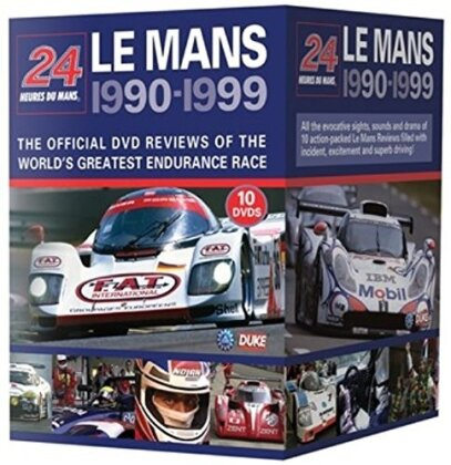 24 hours of Le Mans 1990 - 1999 (10 DVDs)