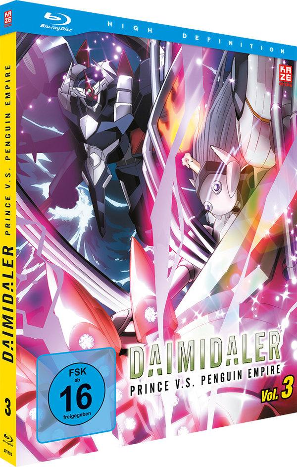 Daimidaler: Prince v.s. Penguin Empire (2014) - Vol. 3 (Mediabook)