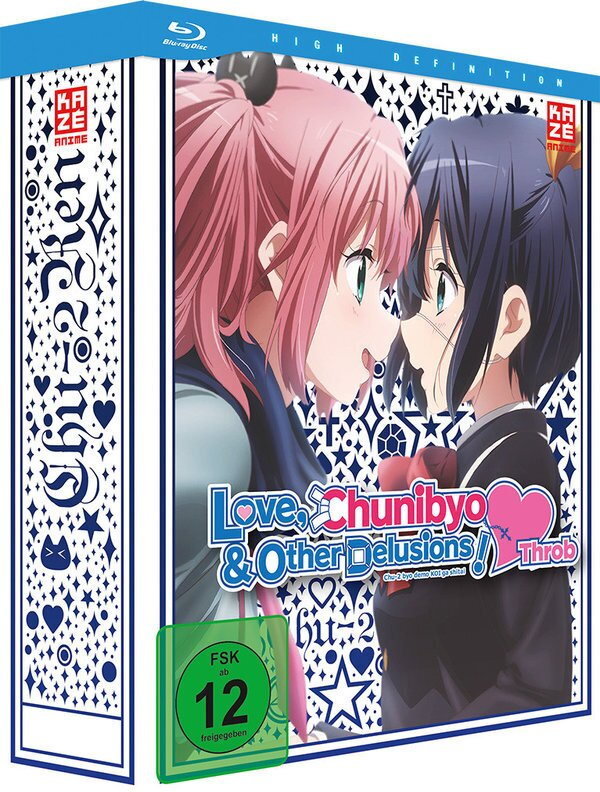 Love, Chunibyo & Other Delusions - Heart Throb: Staffel 2 - Vol. 1 (2014) (+ Sammelschuber, Limited Edition, Collector's Edition)