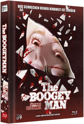 The Boogey Man (1983) (Cover B, Collector's Edition Limitata, Mediabook, Blu-ray + DVD + CD)