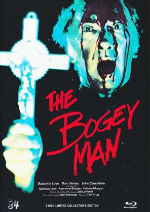 The Bogey Man (1983) (Cover C, Limited Collector's Edition, Mediabook, Blu-ray + DVD + CD)