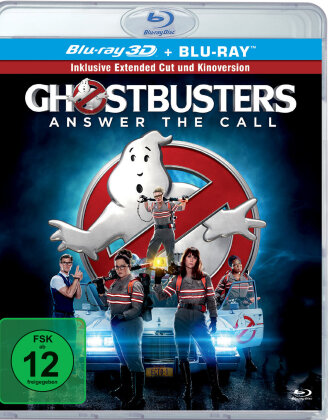 Ghostbusters (2016) (Extended Edition, Kinoversion, Blu-ray 3D + Blu-ray)