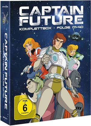 Captain Future - Komplettbox (4 Blu-rays)