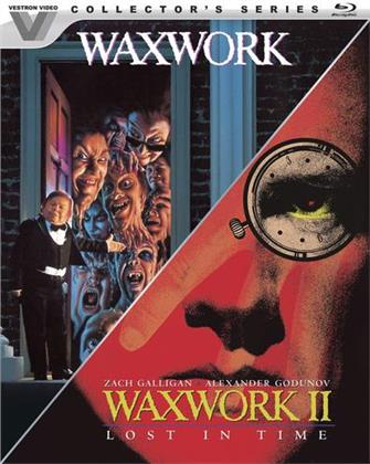 Waxwork / Waxwork II - Lost in Time (Vestron Video Collector's Series, Limited Collector's Edition, Remastered, Restaurierte Fassung, Unrated, 2 Blu-rays)