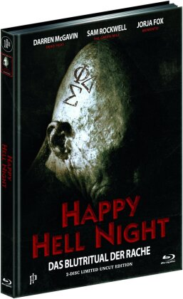 Happy Hell Night (1992) (Cover B, Limited Uncut Edition, Mediabook, Blu-ray + DVD)