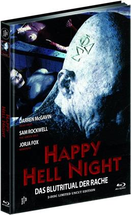 Happy Hell Night (1992) (Cover C, Limited Uncut Edition, Mediabook, Blu-ray + DVD)